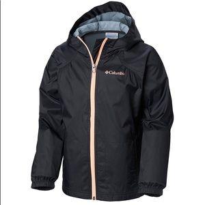 Hooded Back Columbia Rain Jacket